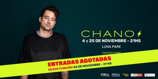 Chano, 4 November | Event in Buenos Aires | AllEvents.in