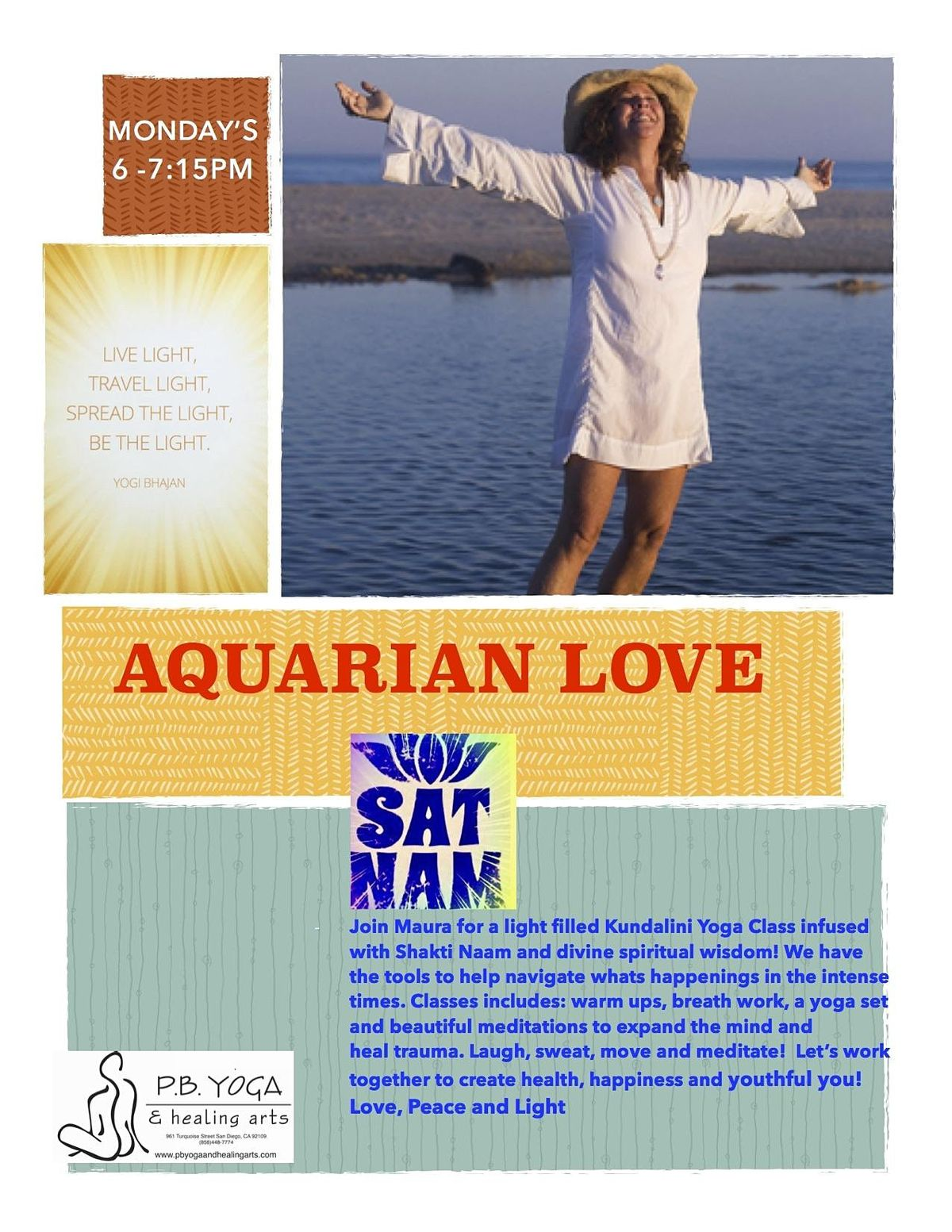 Aquarian Love Kundalini Yoga At P B Yoga Healing Arts San Diego