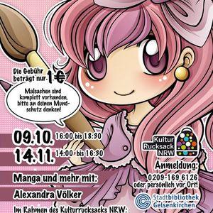 Manga-Zeichnen mit Alexandra Vlker