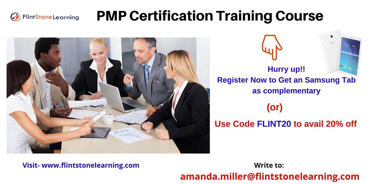 PMP Training workshop in Bonita CA
