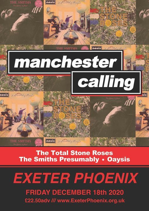 Manchester Calling!, 18 December | Event in Exeter | AllEvents.in