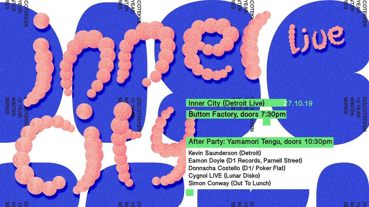 Inner City (Live) Kevin Saunderson Donnacha Costello Eamon Doyle & more