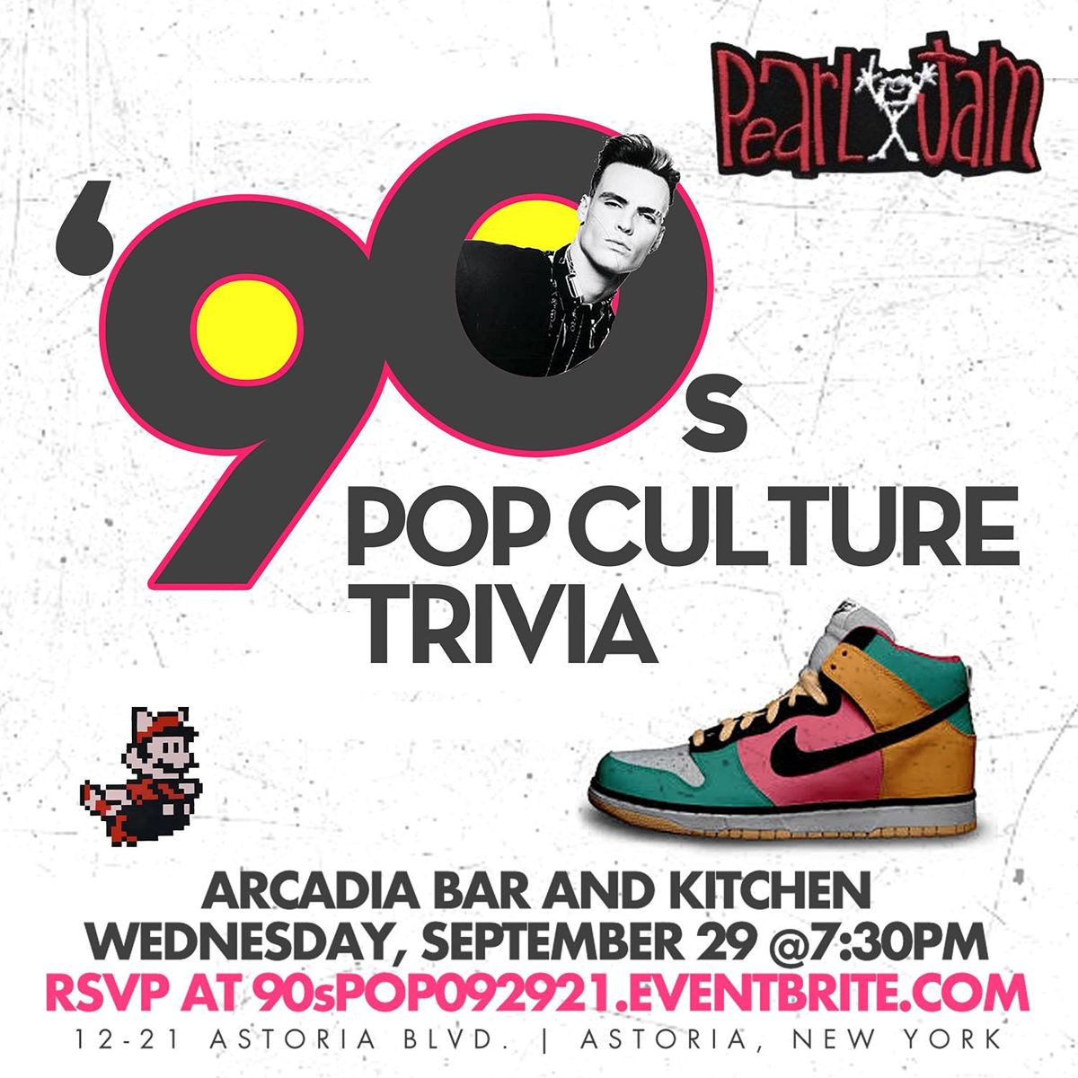 90s Pop Culture Trivia, 29 September | Event in Queens | AllEvents.in