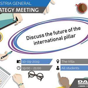 Strategy Meeting International Pillar