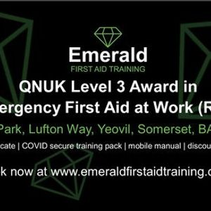 QNUK Level 3 Award in Emergency First Aid at Work (RQF)