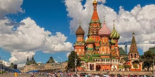 A Virtual Guided Tour of Red Square and the Kremlin, 8 March   Online Event   AllEvents.in