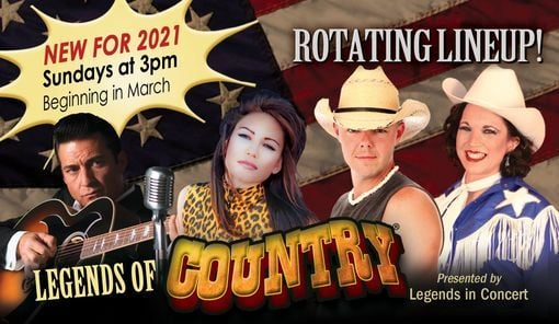 Legends of Country®   Event in Branson   AllEvents.in