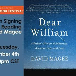 In-Person Signing  Reading  David Magee