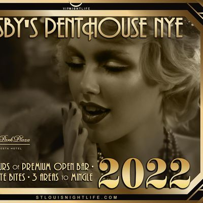 St. Louis New Years Eve Party 2022 - Gatsbys Penthouse