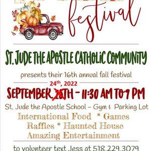Fall Festival & Craft Fair featuring International Food