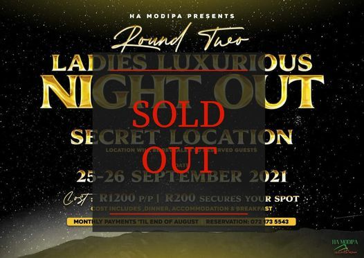 Ladies Luxurious Night Out, 25 September | Event in Sandton | AllEvents.in