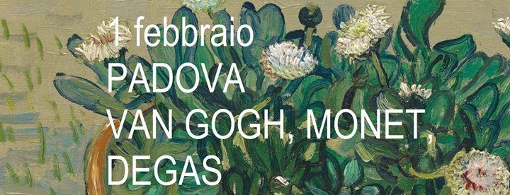 Padova Van Gogh Monet Degas
