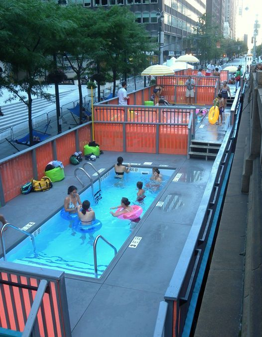 NYC Dumpster Pools Pop Ups, 2 September   Event in York   AllEvents.in