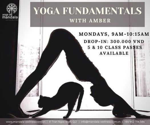 Yoga Fundamentals, 7 June | Event in Ho Chi Minh City | AllEvents.in