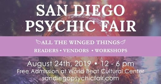 San Diego Psychic Fair- All the Winged Things at WorldBeat Cultural