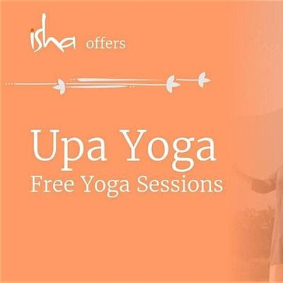 Lunchtime Free Isha Meditation Session - Yoga for Wellbeing