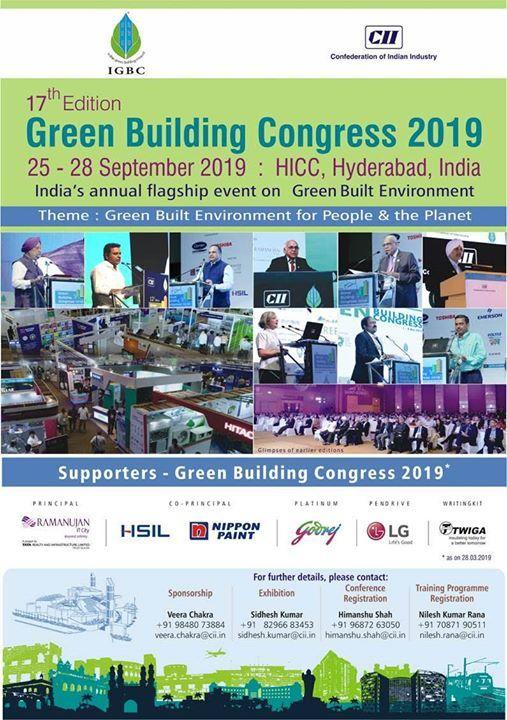 17th Edition Green Building Congress 2019