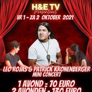 H&E TV LEO ROJAS en PATRICK KRONENBERGER MINI CONCERT  SPECIAL