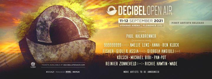 Decibel Open Air 2021 - Firenze, 11 September | Event in Florence | AllEvents.in