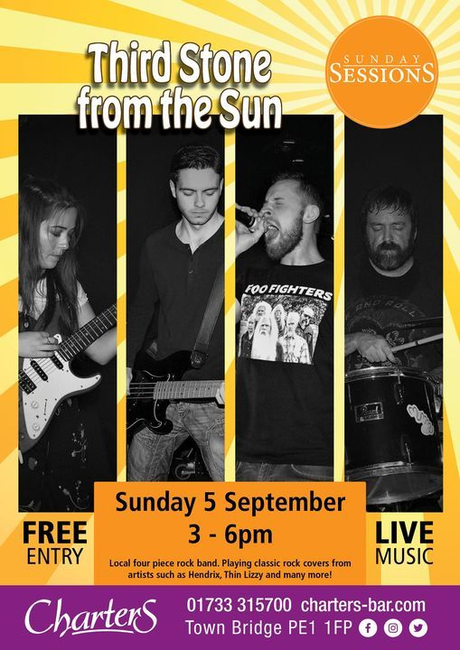 Third Stone From The Sun, 5 September | Event in Peterborough | AllEvents.in