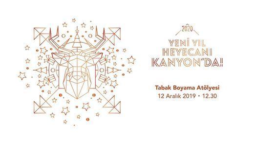 Tabak Boyama Atolyesi At Kanyon Istanbul