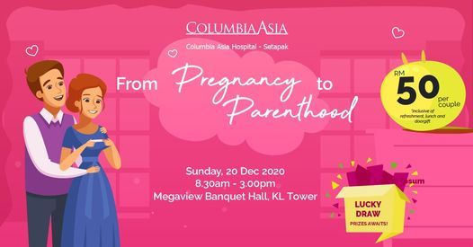 """Antenatal Class """"From Pregnancy to Parenthood"""", 20 December 