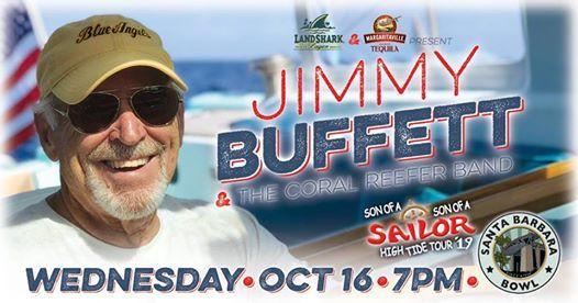 Jimmy Buffett at Santa Barbara Bowl, Santa Barbara
