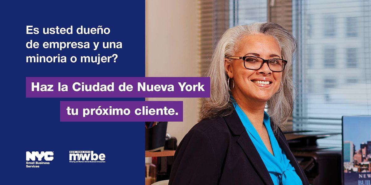 M/WBE Certification Webinar (SPANISH), 8 November | Online Event | AllEvents.in