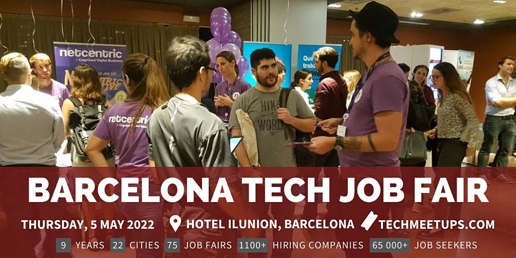 Barcelona Tech Job Fair, 5 May | Event in Barcelona | AllEvents.in