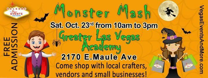 Monster Mash, 23 October | Event in Henderson | AllEvents.in