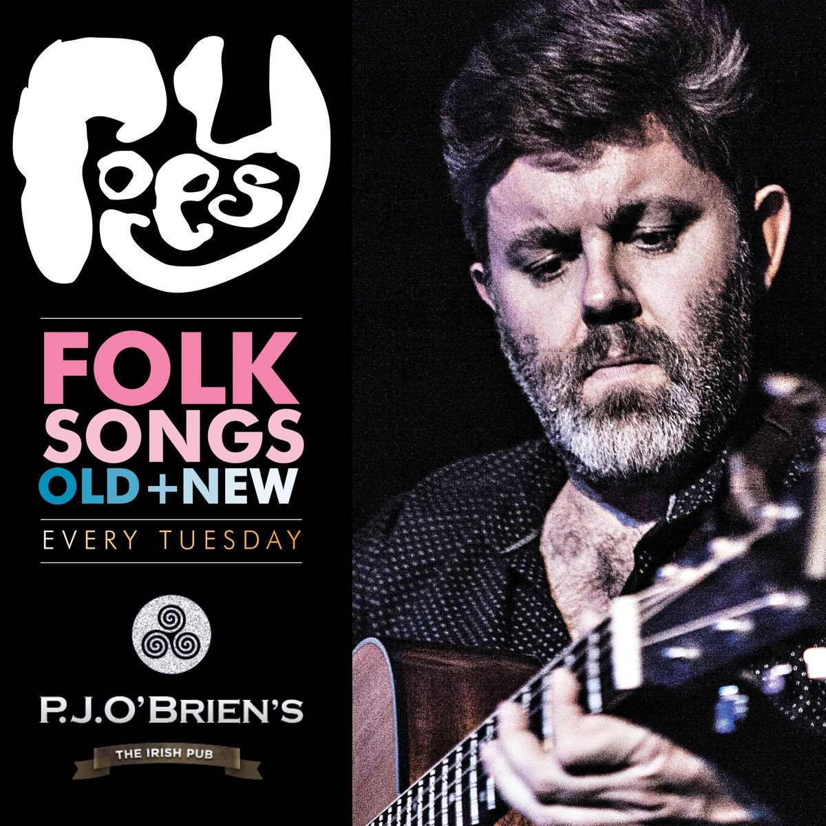Live Music Tuesdays  P.J.OBriens Southbank  Featuring Roesy