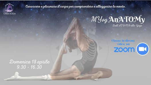 MYogAnatomy, 18 April | Event in Pavia | AllEvents.in