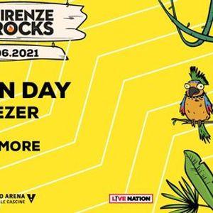 Green Day  more  Firenze Rocks 2021