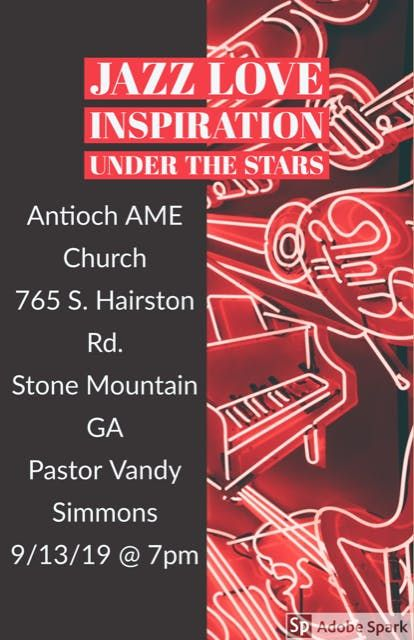 Antioch AME Churchs Annual Evening of Jazz Love and Inspiration 2019