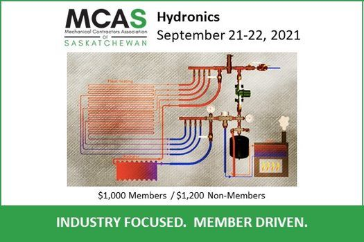 Hydronics Course, 21 September   Event in Saskatoon   AllEvents.in