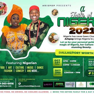A Taste of Nigeria Festival - Dallas Fort Worth