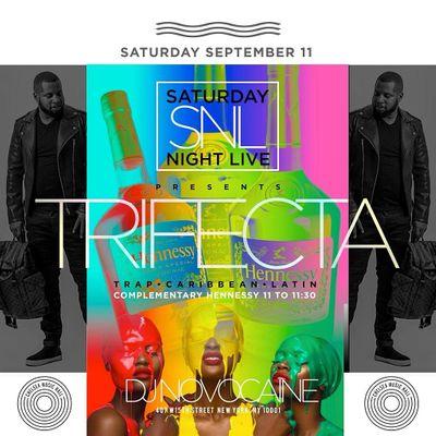 Trifecta Saturdays - Trap  Caribbean  Latin  Presented By LBN