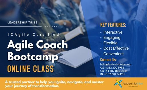 Agile Coach Bootcamp   Part Time - July, 13 July   Event in London   AllEvents.in