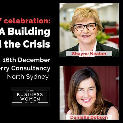 Sydney EOY Celebration Building Capability Beyond the Crisis Panel