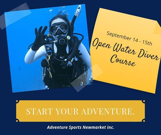 PADI Open Water Diver Course at Adventure Sports Newmarket