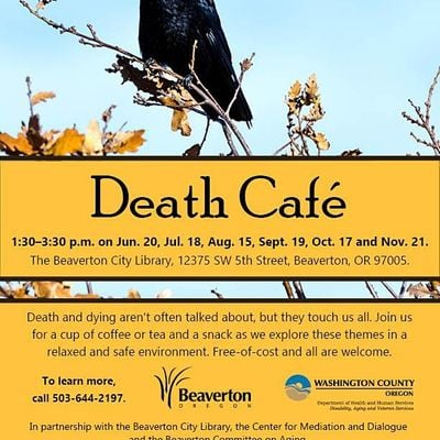 Beaverton Death Cafe - Virtual