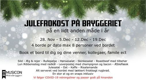 Julefrokost på bryggeriet (bord 3), 19 December | Event in Roskilde | AllEvents.in