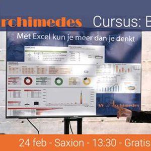 Cursus Basis Excel