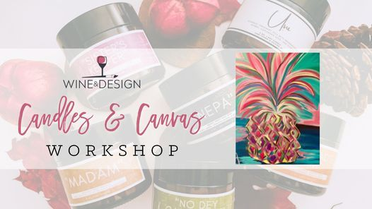 Candles & Canvas Workshop!, 16 July   Event in Apex   AllEvents.in