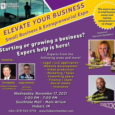 ELEVATE Your Business Exhibitor Registration