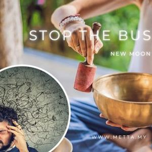 Stop the Busy Mind New Moon Sound Healing