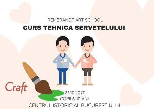 Curs tehnica servetelului copii 6-10 ani ! | Event in Câmpina | AllEvents.in