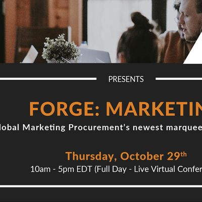 FORGE MARKETING VIRTUAL CONFERENCE