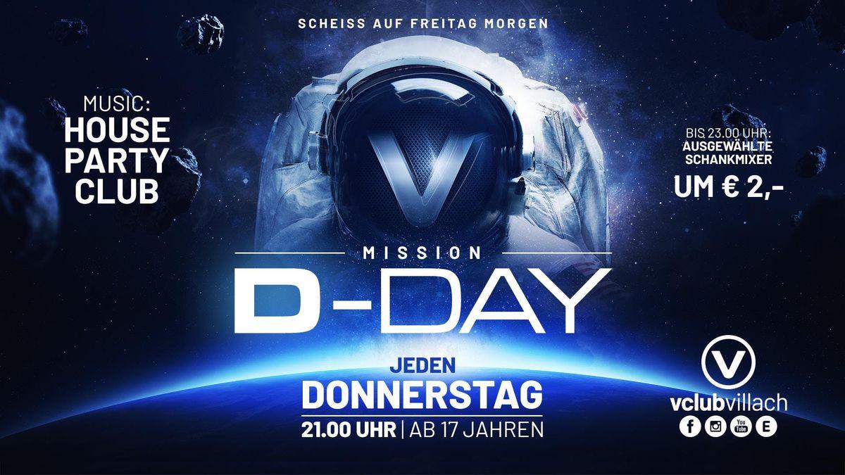 Mission D-Day mit DJ Indygo