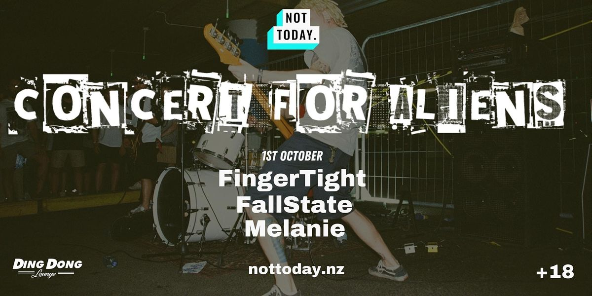 Concert for Aliens, 1 October | Event in Auckland | AllEvents.in
